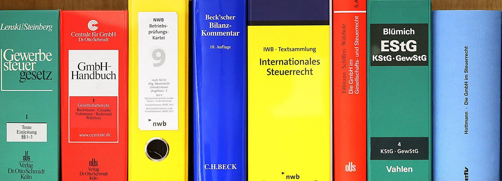 Wirtschaftsprüfungen Essen Steuerberater Bibliothek bei Bedenbecker & Berg